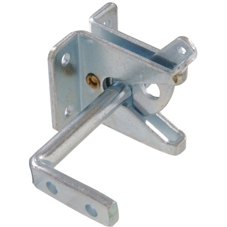 The Hillman Group 852758 Out Swinging Gate Latch - Zinc Plated 1-Pack