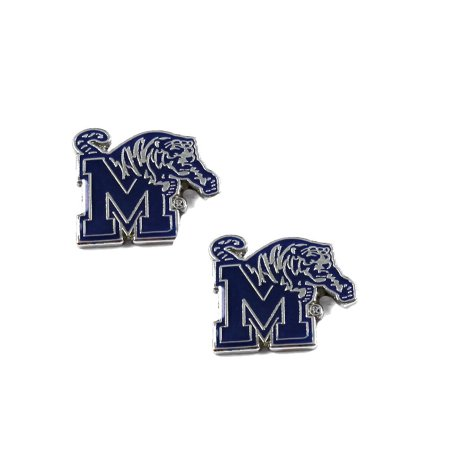 NCAA Memphis Tigers Sports Team Logo Post Stud Earring Set