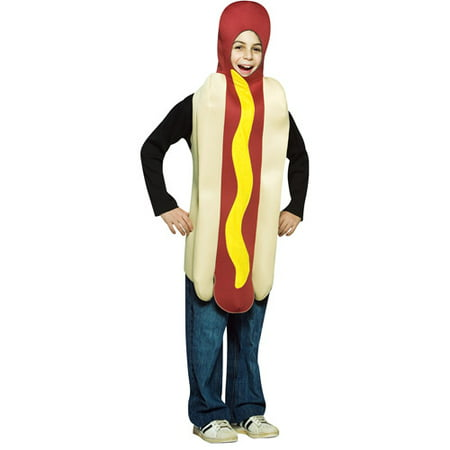 Dog Ears Halloween Costume (Hot Dog Child Halloween Costume - One)