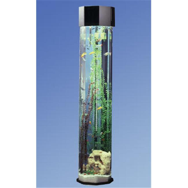 "690 80"" High Aqua Towers Designer 55 Gallon Aquarium by Midwest Tropical"