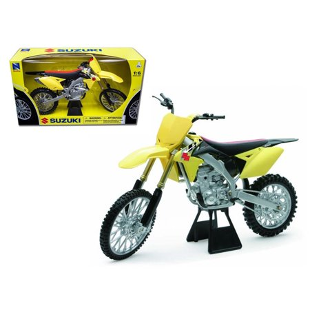 Speeder Bike Model (2014 Suzuki RM-Z450 Bike Motorcycle 1/6 Model by New Ray )