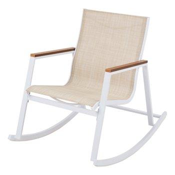 Better Homes & Gardens Neuville Patio Sling Mesh Rocking Chair