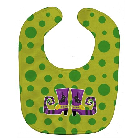 Halloween Witch's Shoes Baby Bib - Witchy Shoes