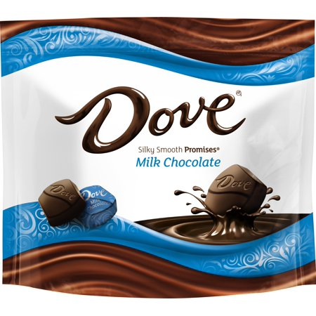 Dove Silky Smooth Promises Milk Chocolate Candy, 8.46 - Palmer Chocolate Halloween Candy