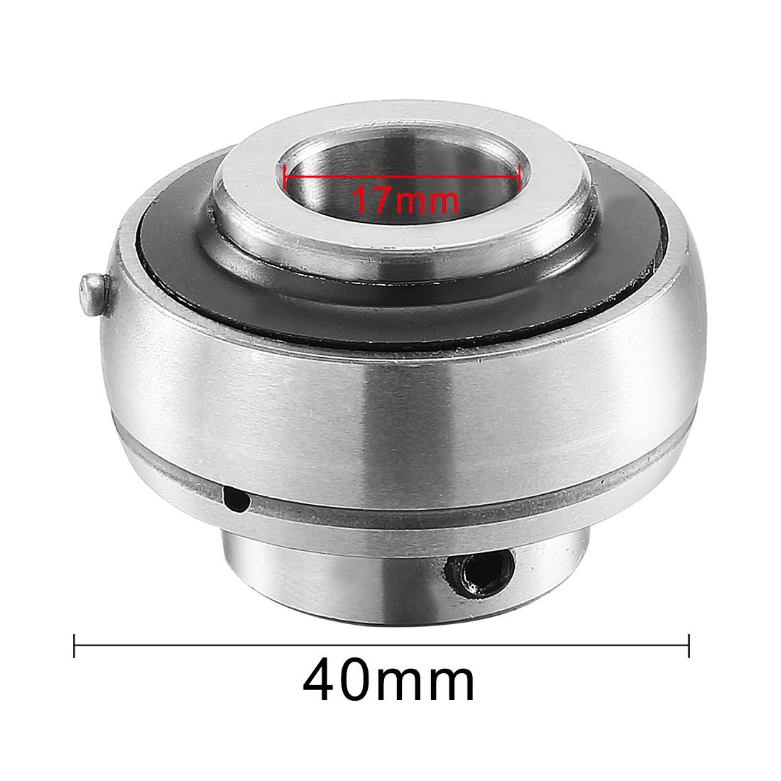 High Quality  15mm Set Screw Insert Bearing UC202 UC202-15MM NEW