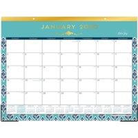 "Blue Sky 2020 Monthly Desk Pad Calendar, Ruled Blocks, 22"" x 17"", Sullana"