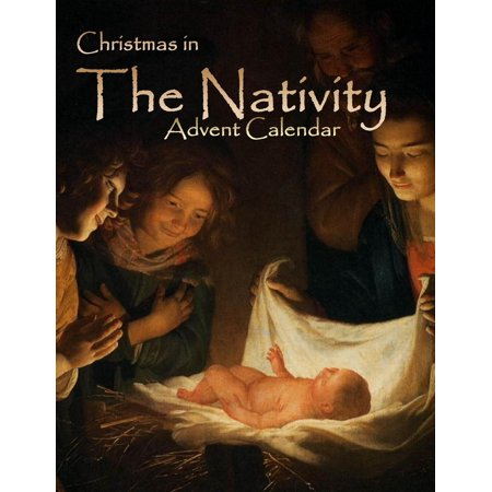 Advent Calendar: Christmas in the Nativity, 2015 Advent Calendar, Advent Books in All Departments, Children's Christmas Books in All Departments, Catholic Childrens Books in All Departments, Christmas
