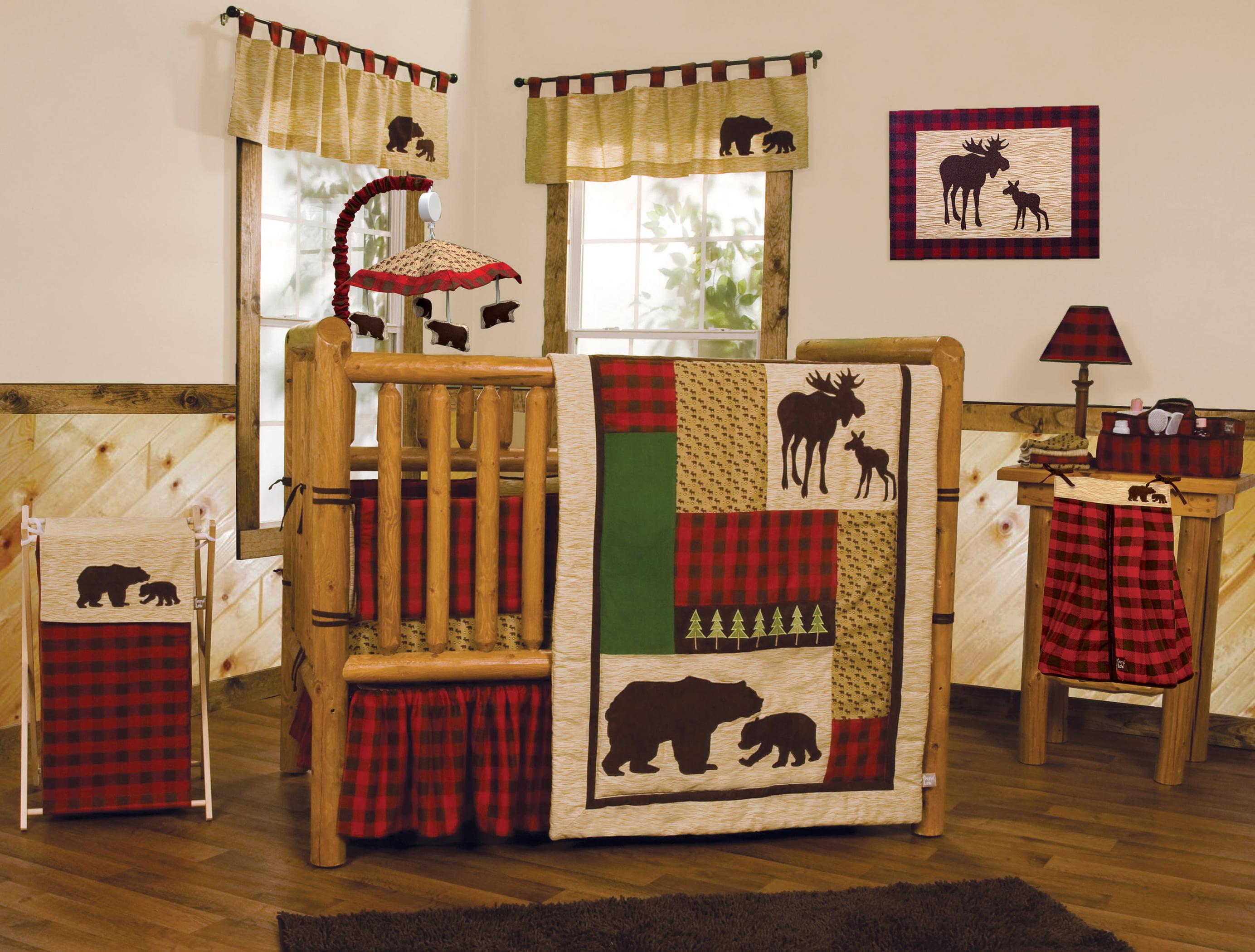 Trend Lab Northwoods 3 Piece Crib Bedding Set Walmart