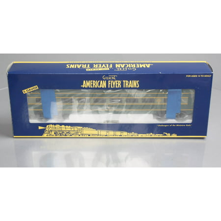 American Flyer 6-49948 S Scale Erie Streamliner Full Vista Dome Car