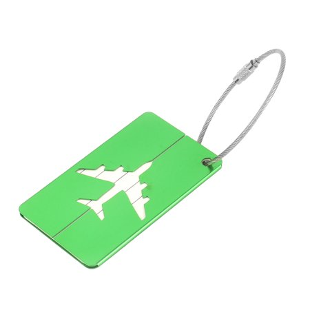 Luggage Label Liner (Unique Bargains Travel Suitcase Message Name Address Telephone Label Luggage)