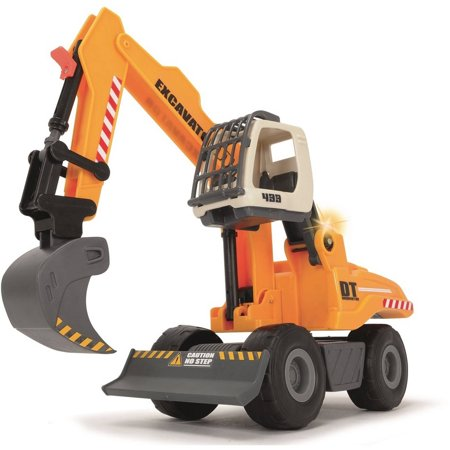 Wooden Construction Toys (Dickie Toys Light and Sound Construction Digger)