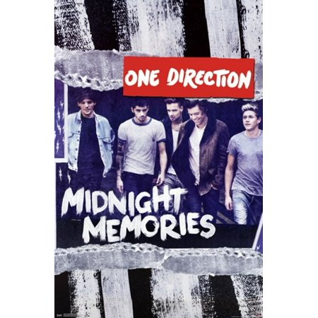 one direction 1d midnight memories poster print walmart com