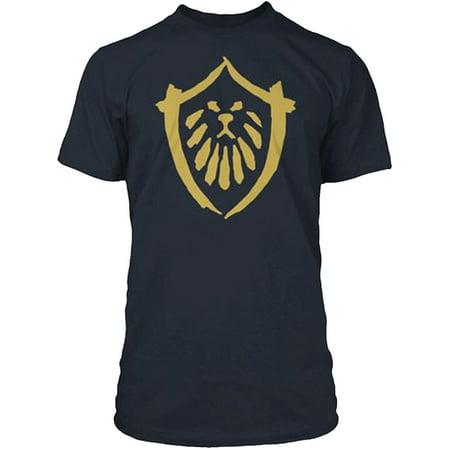 World of Warcraft Mists Pandaria Alliance Faction Logo Adult T-Shirt