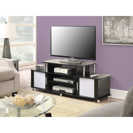 Convenience Concepts Designs2Go Laguna TV Stand for TVs up to 60″, Black