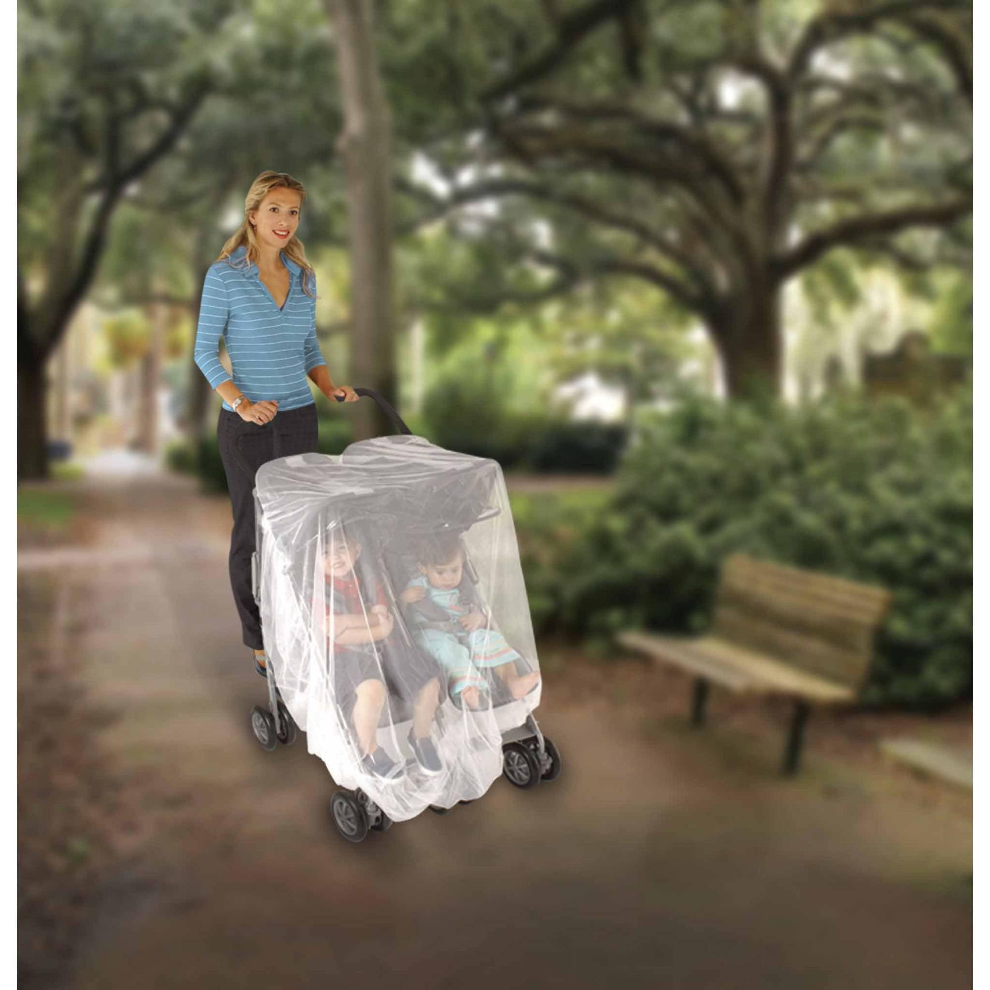 Nuby Double Stroller Netting