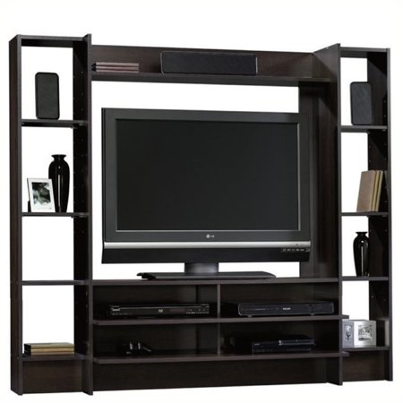 - Bowery Hill Entertainment Center in Cinnamon Cherry