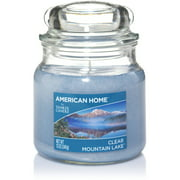American Home by Yankee Candle Clear Mountain Lake, 12 oz Medium Jar