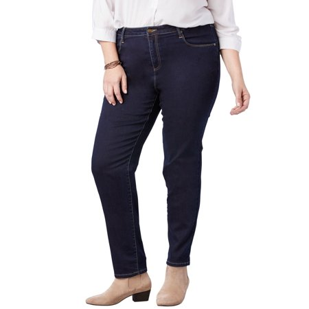Woman Within Plus Size Petite Perfect Straight Leg
