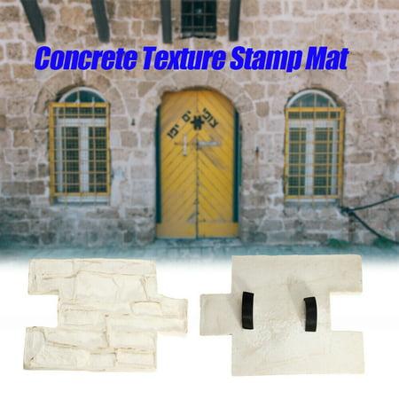 Vertical Stamp Stone Decorative Concrete Cement Imprint Texture Stamp Mat ()