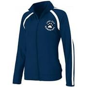 Augusta Sportswear Girls' POLYSPANDEX JACKET M NavyWhite