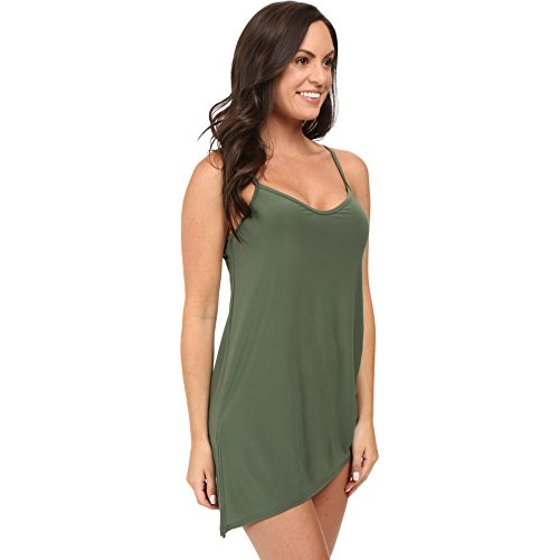 06871a5025ccd Brynn asymmetrical one piece swimdress with underwire support, modesty pad,  and adjustable side tie. Offers adjustable straps. Magicsuit Women's Brynn  One ...