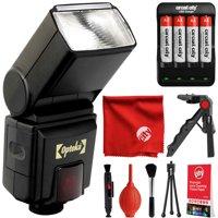 Opteka EF-790PX DG TTL Autofocus Dedicated TTL LCD Flash for Pentax Digital SLR Cameras  K-1, K-3 II, KP, K-70, K-S2, K-S1, K-500, K-50, K-30, K-7, K-5, K-3, K20D, K100D and K10D