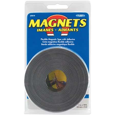 master magnetics inc x large magnetic tape roll  master magnetics inc 07019 1 x 10 large magnetic tape roll