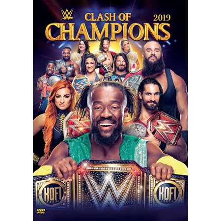 WWE: Clash Of Champions 2019 (DVD) (Wwe Tin Dvd)