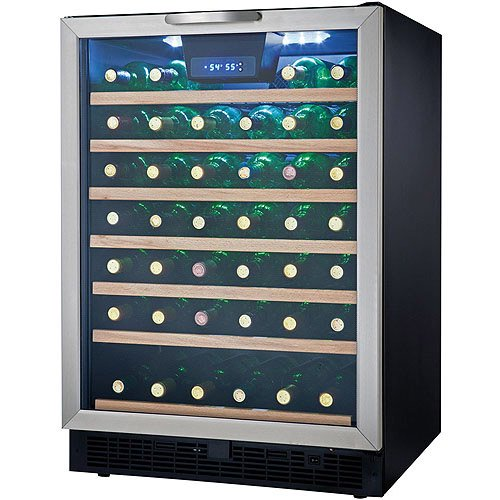Danby 50 Bottle Designer Wine Cooler Black And Stainless