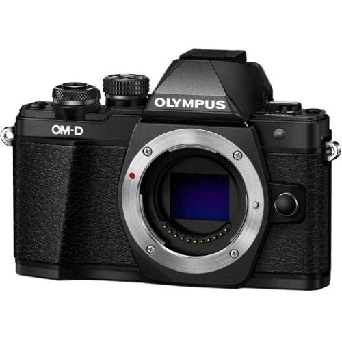 "Olympus V207050BU000 Olympus OM-D E-M10 Mark II 16.1 Megapixel Mirrorless Camera Body Only - Black - 3"" Touchscreen LCD - 16:9 - Optical (IS) - TTL - 4608 x 3456 Image - 1920"