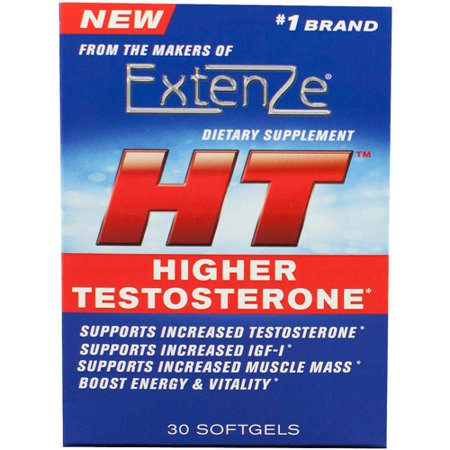 Extenze Ht Higher Testosterone Dietary Supplement Softgels  30 Count