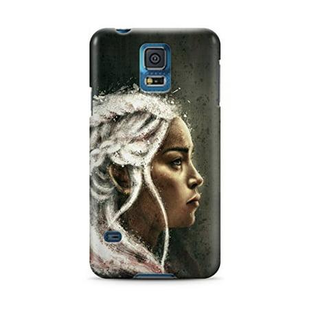 Ganma Game Of Thrones Daenerys Targaryen Khaleesi Case For Samsung Galaxy S5 Hard Case Cover](Game Of Thrones Daenerys Targaryen Halloween Costume)