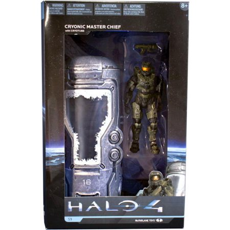 Halo Master Chief (Cryonic Master Chief with Cryotube Action Figure Halo)