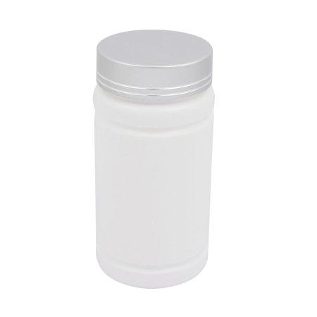 Unique Bargains 5oz HDPE Plastic White Refillable Narrow Mouth Storage Bottle Jar