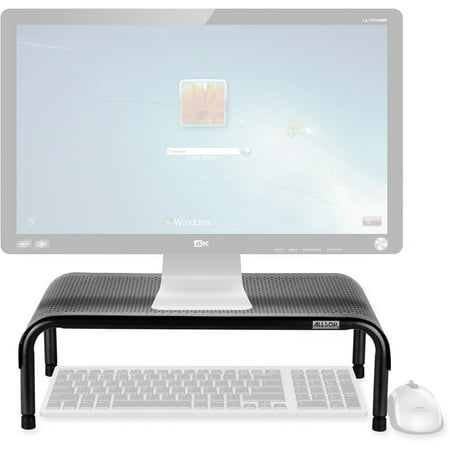 Allsop, ASP31630, Metal Art Ergo3 Adjustable Monitor Stand, 1