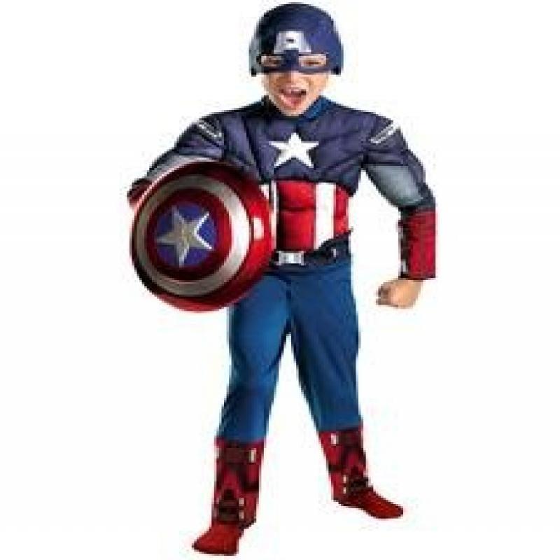 Disguise Inc DI43652-M Medium Boys Captain America Avenge...