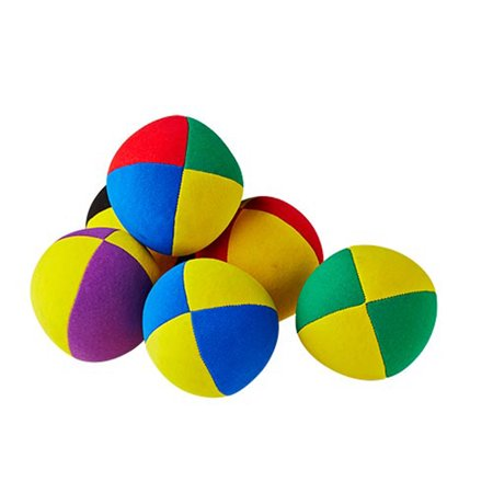 Henrys Juggling Beanbag- Superior Velour 67mm - (1) Single Juggling Ball (Assorted - Colors Vary)