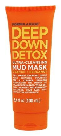 Deep Down Detox Ultra-Cleansing Facial Mud Mask - 3.4 oz. by Formula 10.0.6 (pack of 2) Guinot Lift Firming Cream 50ml/1.6oz