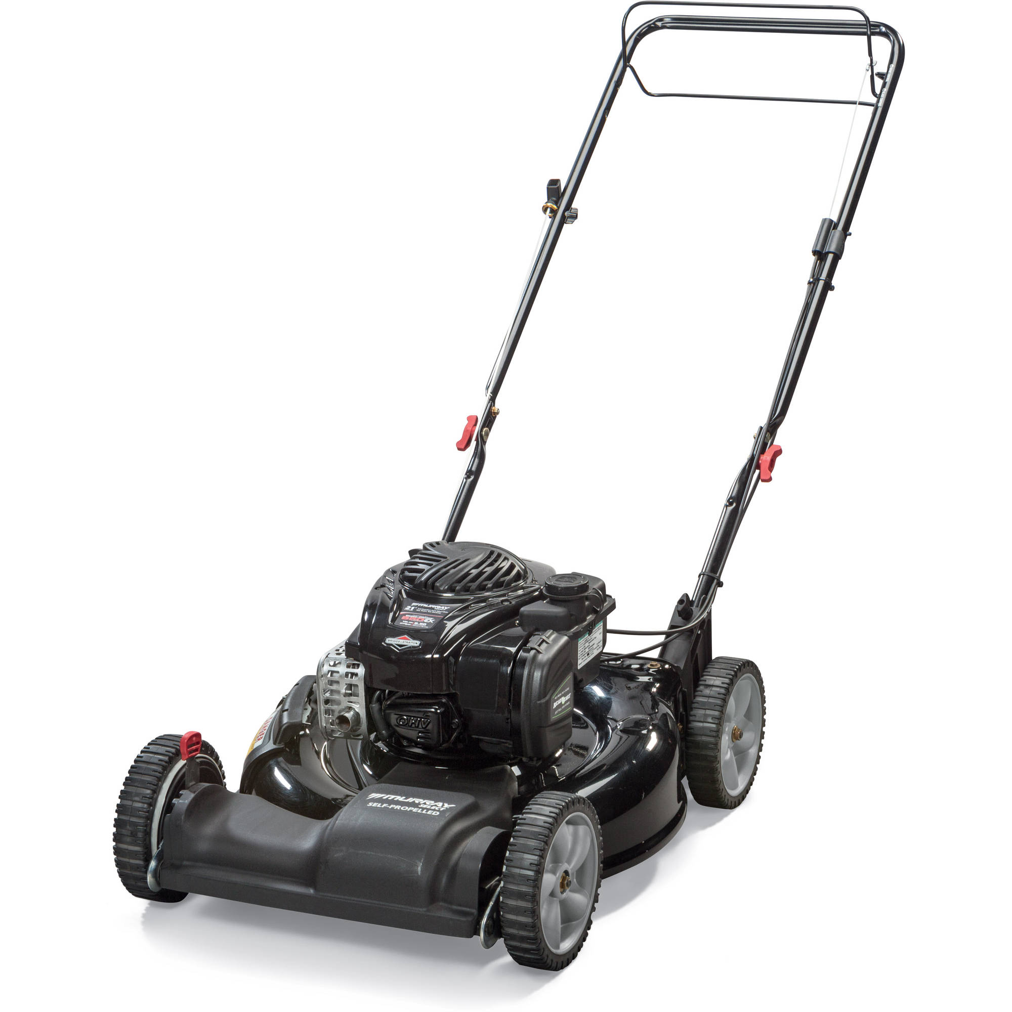 "Murray Select 21"" Self Propelled Gas Mower with Side Discharge, Mulching"