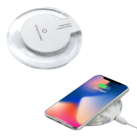Wireless Charging Pad Wireless Charger by Valor Qi Wireless Power Charging  Pad for iPhone X XS iPhone 8 8 Plus / Samsung Galaxy S8 S9 Note 8 and all