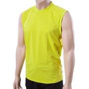 XCel Mens Big and Tall Sleeveless Ventx Shirt: Looser Fit Cutoff Rashguard 30+UV
