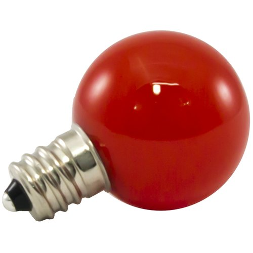 American Lighting LLC 0.5W Red Frosted 120-Volt LED Light Bulb (Set of 25)