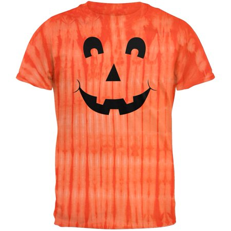 Halloween Face Painting Nyc (Halloween Jack-O-Lantern Excited Face Tie Dye)