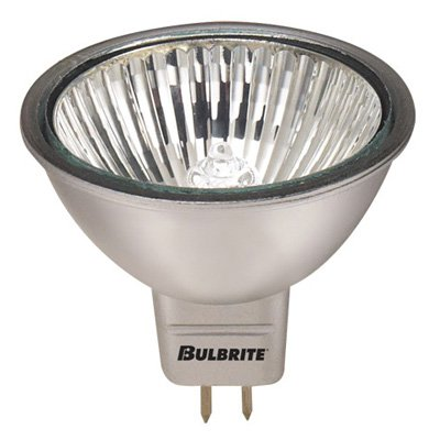 Bulbrite Dimmable MR16 Halogen Gu5.3 Colored Base Light Bulb - 8 pk.