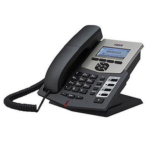 CortelCo Entry Level IP Phone (2-Line SIP), 4 DSS