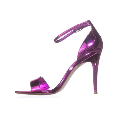 Guess Ladies Strap - Guess Womens Celie3 Open Toe Ankle Strap Classic Pumps, Medium Pink, Size 7.0