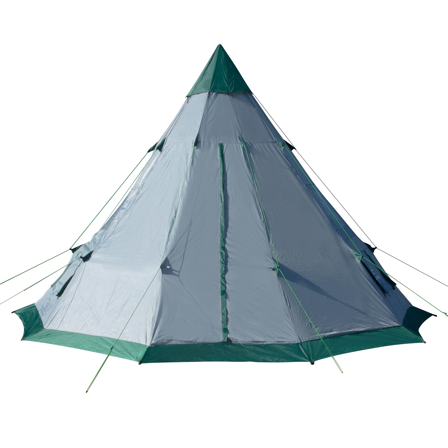Teepee Tent | 6-7 Person Family Tent | Quick Setup