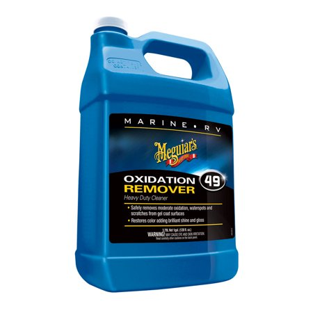 Heavy Duty Oxidation Remover - Meguiar's Marine/RV Heavy Duty Oxidation Remover – Marine Cleaner to Remove Oxidation – M4901, 1 gal