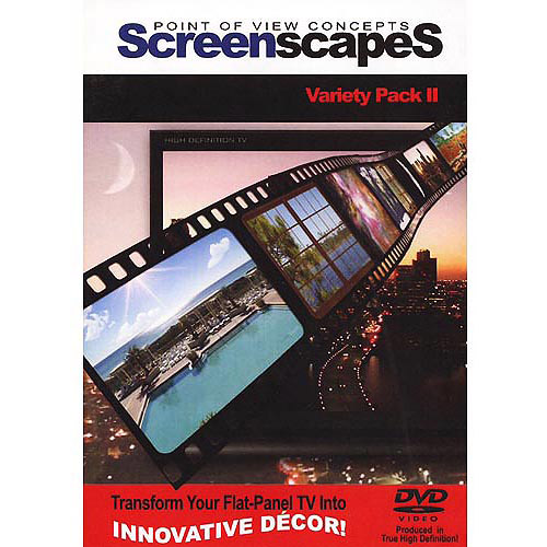 ScreenscapeS: Variety Pack II (HD video screen-savers for your TV!)