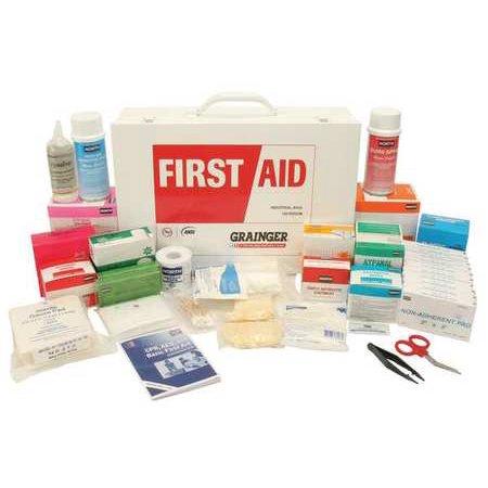 Z019804 First Aid Kit  Bulk  White  27 Pcs  100 Ppl